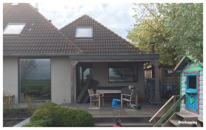 vergunning overkapping veranda